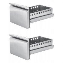Kettes fiók modul (1/2+1/2) MAXIMA alső hűtőegységes hűtött munkaasztalokhoz – Maxima 09400497
